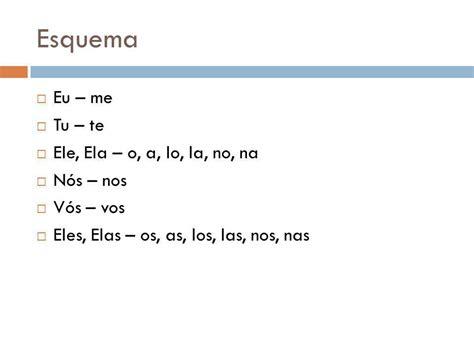 葡萄牙语语法人称代词的宾格