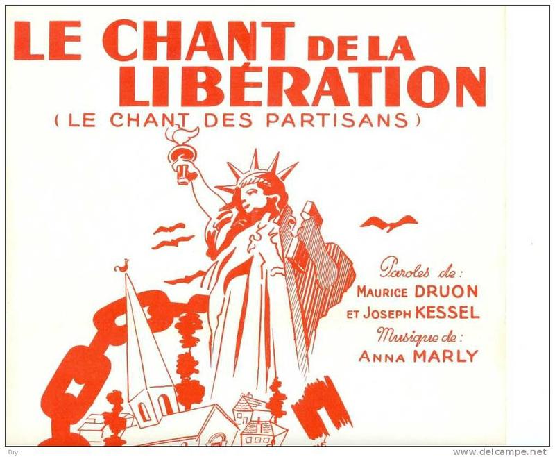 法语歌曲:游击队之歌