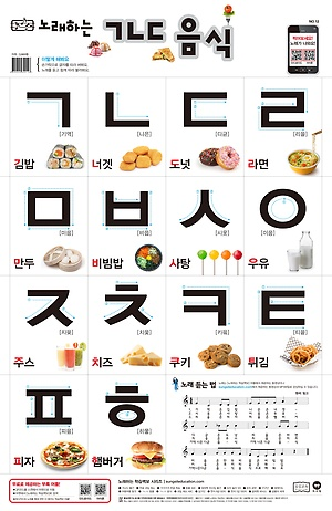 韩文字母ㄱㄴㄷ歌