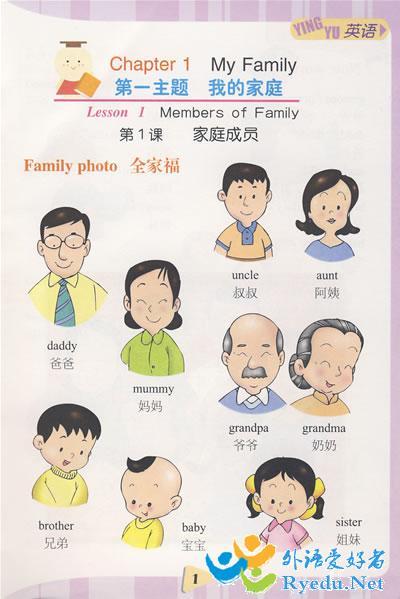 这是我的家庭照片用英语怎么说图片
