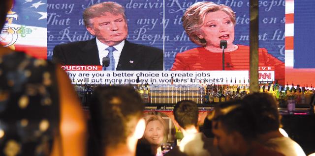 美國大選辯論英文