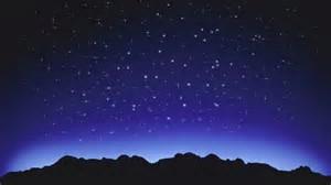 英文诗And The Stars星