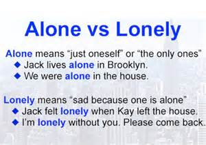 alone|lonely