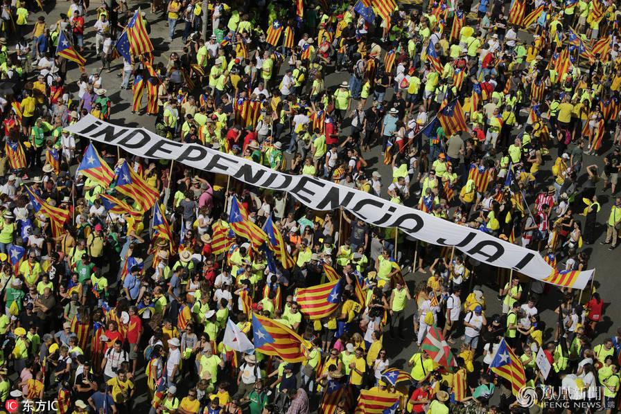 加泰罗尼亚独立公投